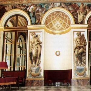 Эжен Делакруа - Декоративное оформление западной стены