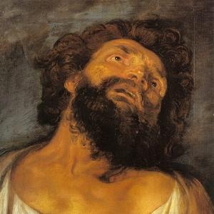 Антон ван Дейк - Голова разбойника, 1617-18