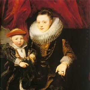 Антон ван Дейк - Молодая женщина с ребенком