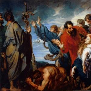 Антон ван Дейк - Моисей и Медный Змей