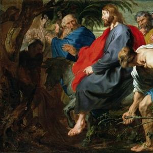 Антон ван Дейк - Въезд Христа в Иерусалим