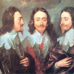 Антон ван Дейк - Карл I в трех ракурсах