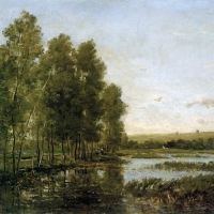 Шарль Франсуа Добиньи - Берега реки