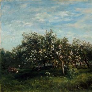 Шарль Франсуа Добиньи - Яблоневый цвет