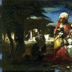 Нарсис Виржиль Диаз де ла Пенья - Турецкая семья