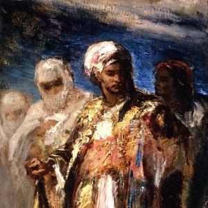 Нарсис Виржиль Диаз де ла Пенья - Мужчины в восточных нарядах