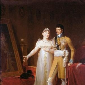 Жером Бонапарт (1784-1860) и его жена Екатерина (1783-1835) из Вюртемберга