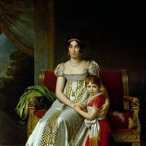 Гортензия де Богарне (1783-1837) Королева Голландии и её сын Наполеон Шарль Бонапарт