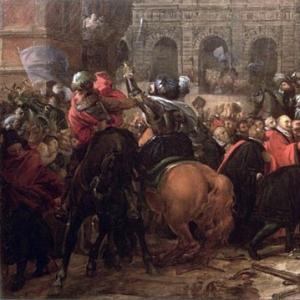 Вступление Генриха IV в Париж 22 марта 1594