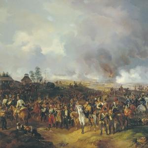 Сражение при Лейпциге с 2 по 7 октября 1813 года. (1844)