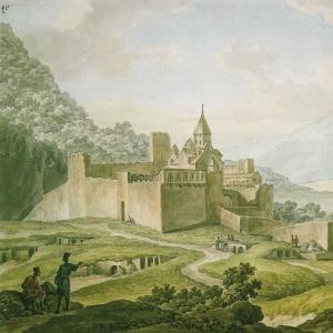 Иванов Михаил Матвеевич - Крепость-монастырь в Грузии