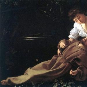 Блаженство святого Франциска