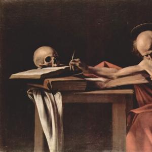 Пишущий св. Иероним