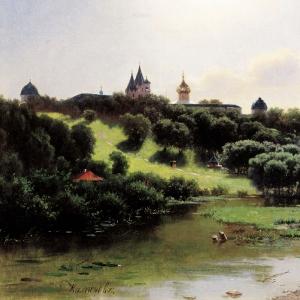 Саввино-Сторожевский монастырь под Звенигородом.