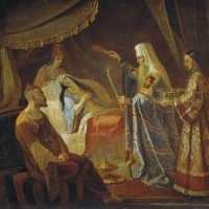 Исцеление Митрополитом Алексеем Тайдулы, жены Чанибека, Хана Золотой Орды