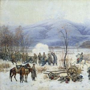 Сражение у Шипки-Шейново 28 декабря 1877 года.