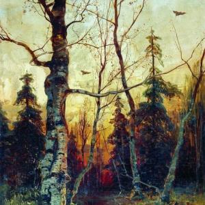 Пейзаж. (1892)