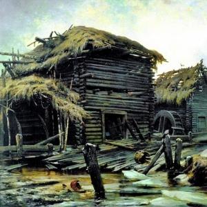 Клевер Юлий - Заброшенная мельница 1890