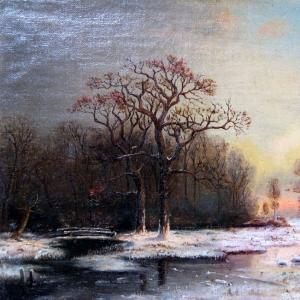 Клевер Юлий - Зимний пейзаж 2