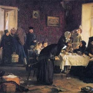 Корзухин Алексей - В монастырской гостинице