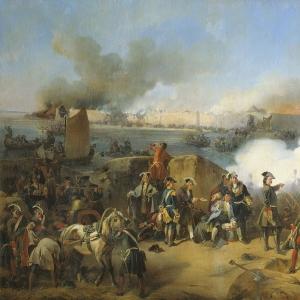 Штурм крепости Нотебург 11 октября 1702 года