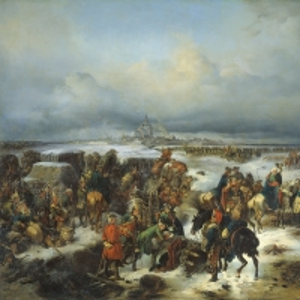 Взятие крепости Кольберг