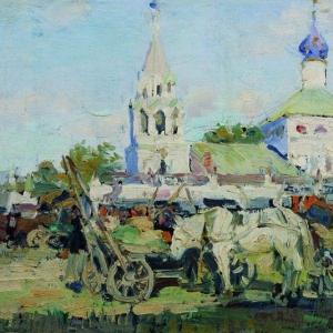 Куликов Иван - Николо-Зарядская церковь. 1916