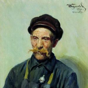 Куликов Иван - Рабочий-ударник Судаков. 1931