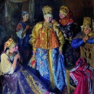 Куликов Иван - Убор невесты. 1907
