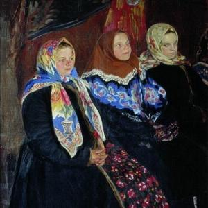 Куликов Иван - Три девицы. 1907