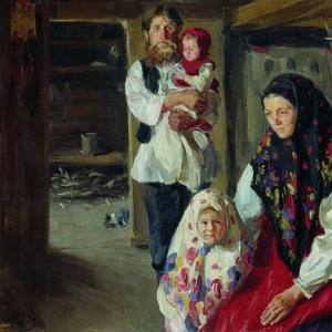 Куликов Иван - Семья лесника. 1909