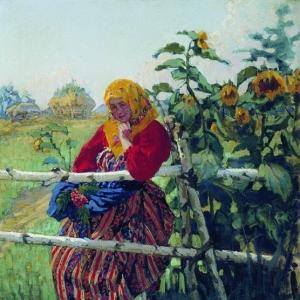 Куликов Иван - У околицы. 1913