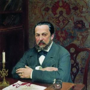Куликов Иван - Портрет А.С.Уварова. 1916