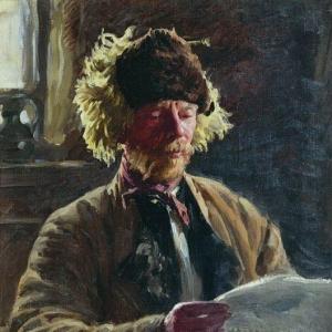 Куликов Иван - Портрет Андрианова. 1929