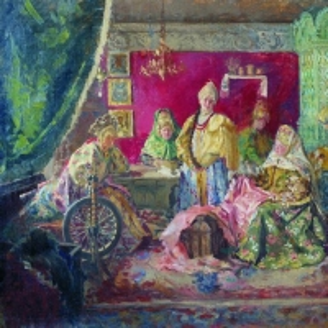 Куликов Иван - В боярском тереме. 1906-1907