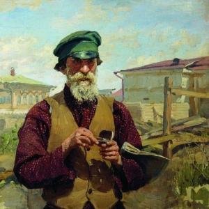 Куликов Иван - Плотник (Егор Терешкин). 1916