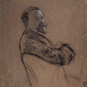 Автопортрет. 1910-1914.