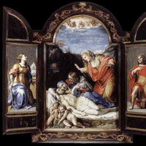 Караччи Аннибале - Триптих