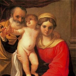 Караччи Аннибале - Святое семейство