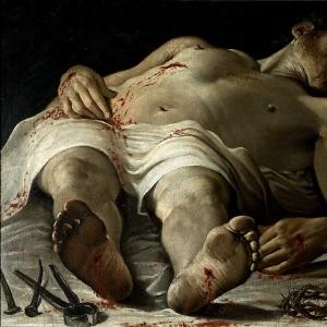 Караччи Аннибале - Мертвый Христос