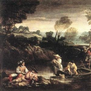 Караччи Аннибале - Рыбная ловля
