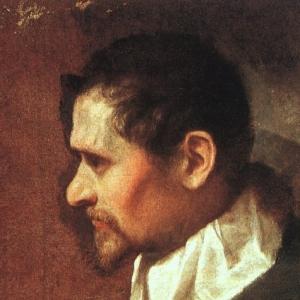 Караччи Аннибале - АВТОПОРТРЕТ В ПРОФИЛЬ, 1590-1600
