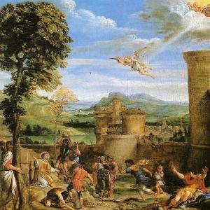 Караччи Аннибале - Мученичество Св. Стефана, 1603