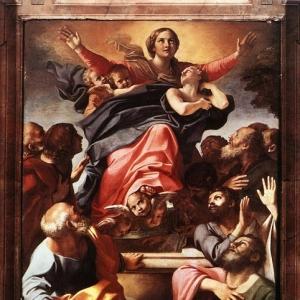 Караччи Аннибале - Успение Девы Марии