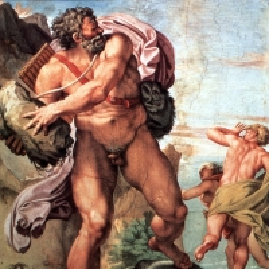 Караччи Аннибале - Полифем и нимфа Галатея