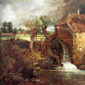 Джон Констебл - Водяная мельница