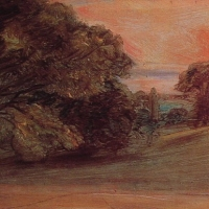 Джон Констебл - Вечерний пейзаж у Ист-Бергхолта