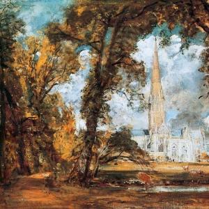 Джон Констебл - Кафедральный собор Солсбери