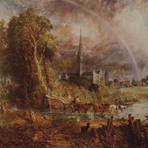 Джон Констебл - Кафедральный собор Солсбери, вид с лугов
