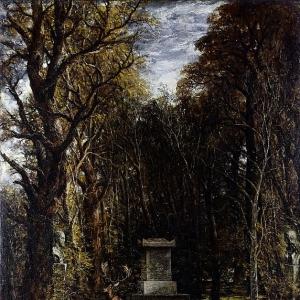 Джон Констебл - Кенотаф в память Джошуа Рейнольдса, воздвигнутый на земле Колеортон-холла, Лестершир, покойным сэром Джорджем